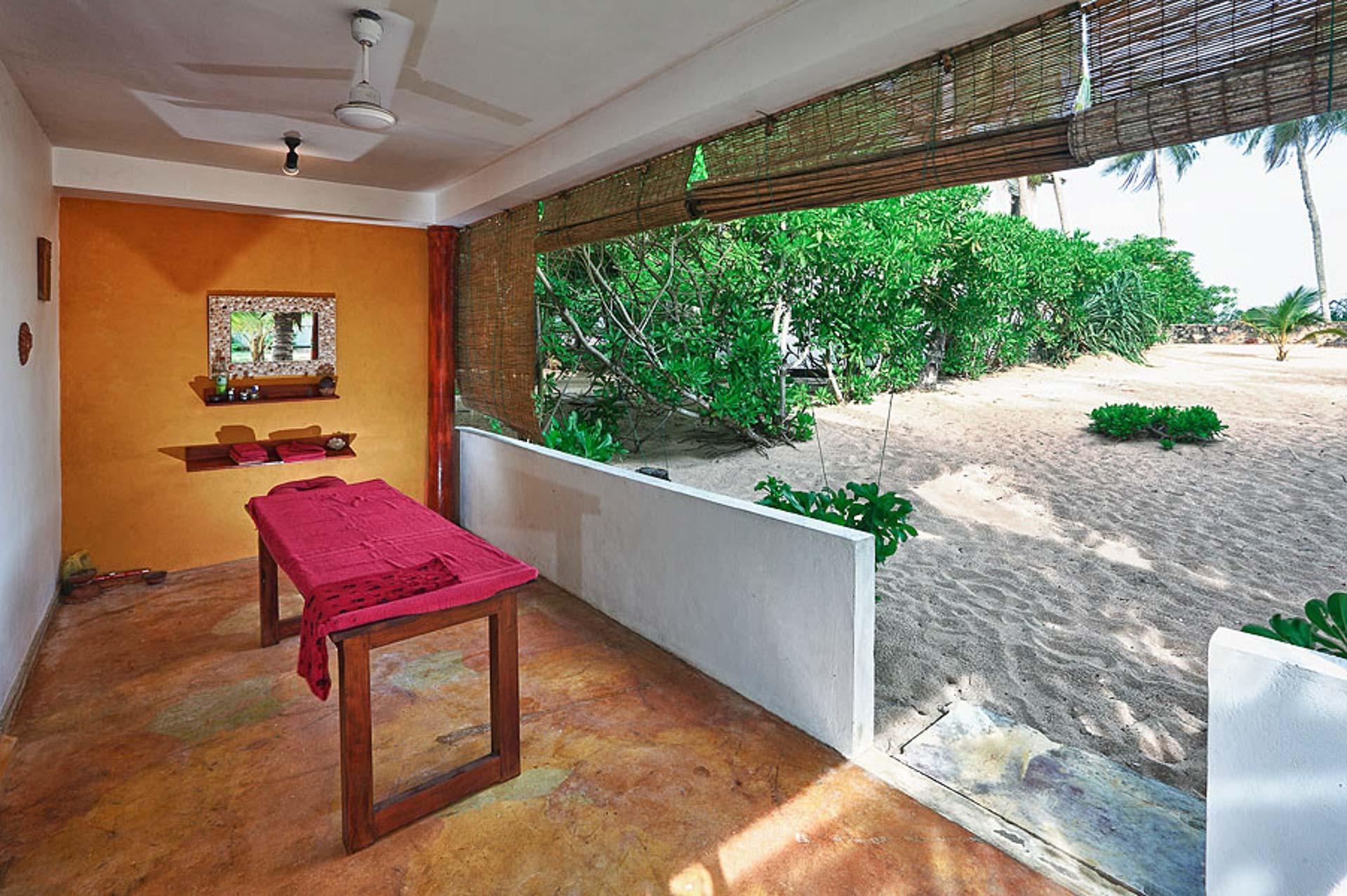 Masáž v Tropical Garden