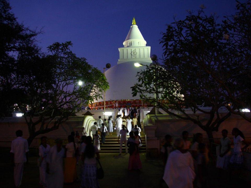 Posvátné město Kataragama patří mezi oblíbené výlety na jihu Srí Lanky